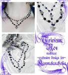 Trivium Nox necklace