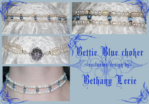 Bettie Blue choker