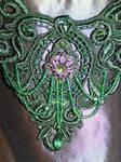 Gaian Choker - bead detail