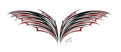 Wing Vampyria by redLillith