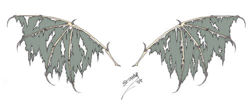 Plague Wings by redLillith