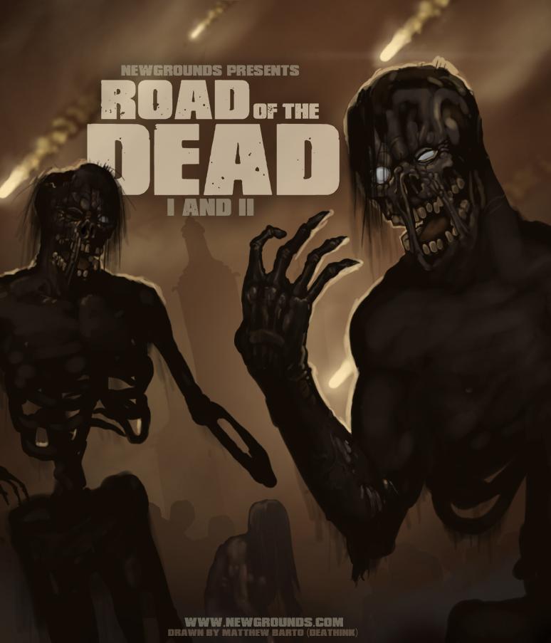road of the dead fan art by deathinkng on deviantart
