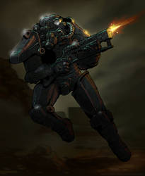 T-45d Power Armor by DeathInkNG