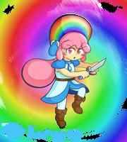 Princess Rainbow by Kapus49