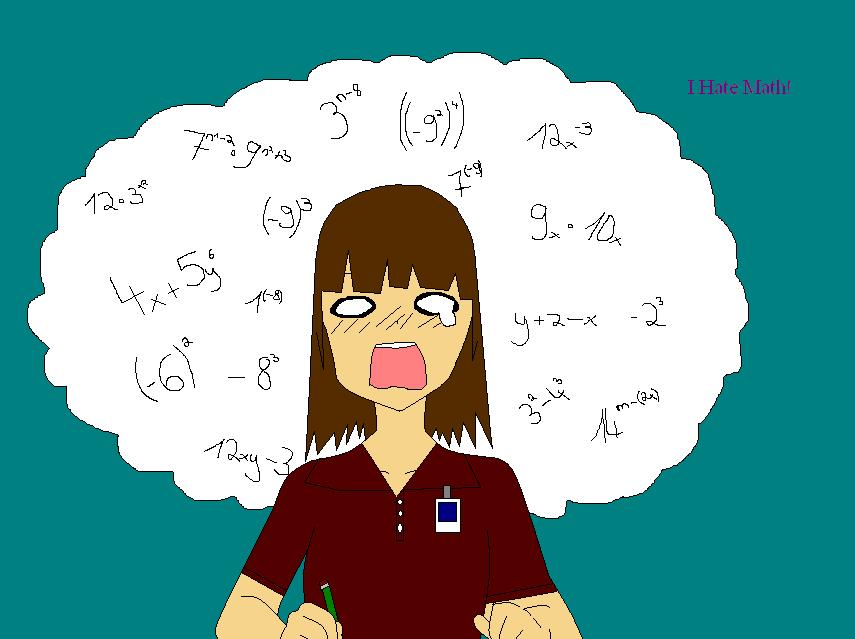 New Id: I Hate Math by Tsunade183 on deviantART I Hate Math Image