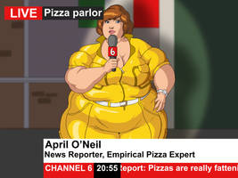 Weekly Waifu: April O'Neil by Aka-FA
