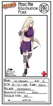 Ino Medic-Nin Registration