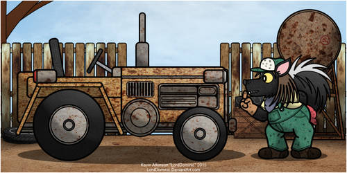 Troublesome Tractor by LordDominic