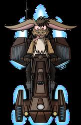 Deneb's Speederbike by LordDominic