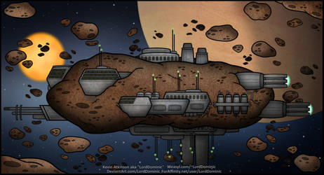 Asteroid Mining Colony