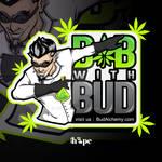 Mascot character for CBD sticker design