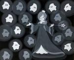 Rosalina and Lumas by NintendoKiddo64