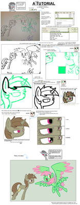 Tutorial on MS Paint and ponies