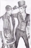 GQ: twins Kaulitz by angelteva