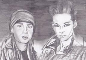 Twins Kaulitz Milan by angelteva