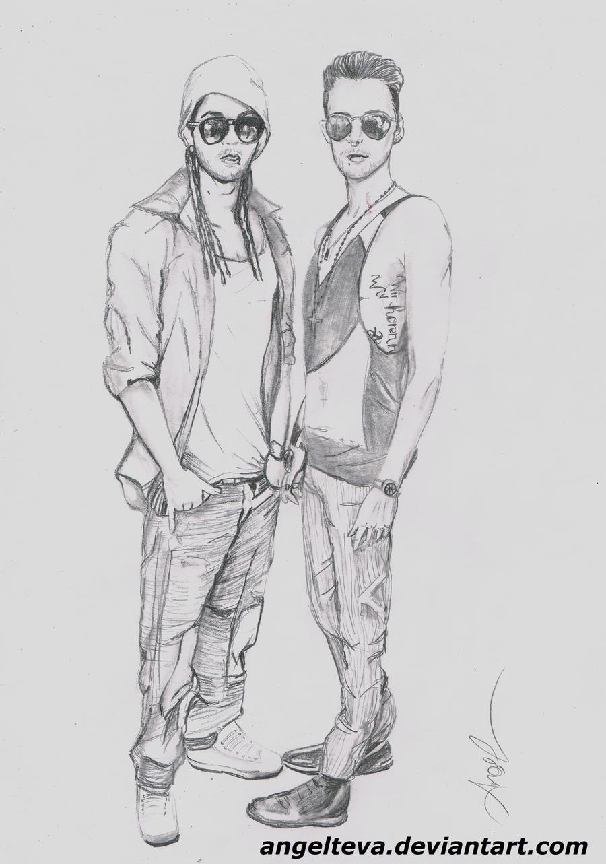 Nivea Twins Kaulitz (by AngeL) Nivea_twins_kaulitz_by_angelteva-d3jc9a3