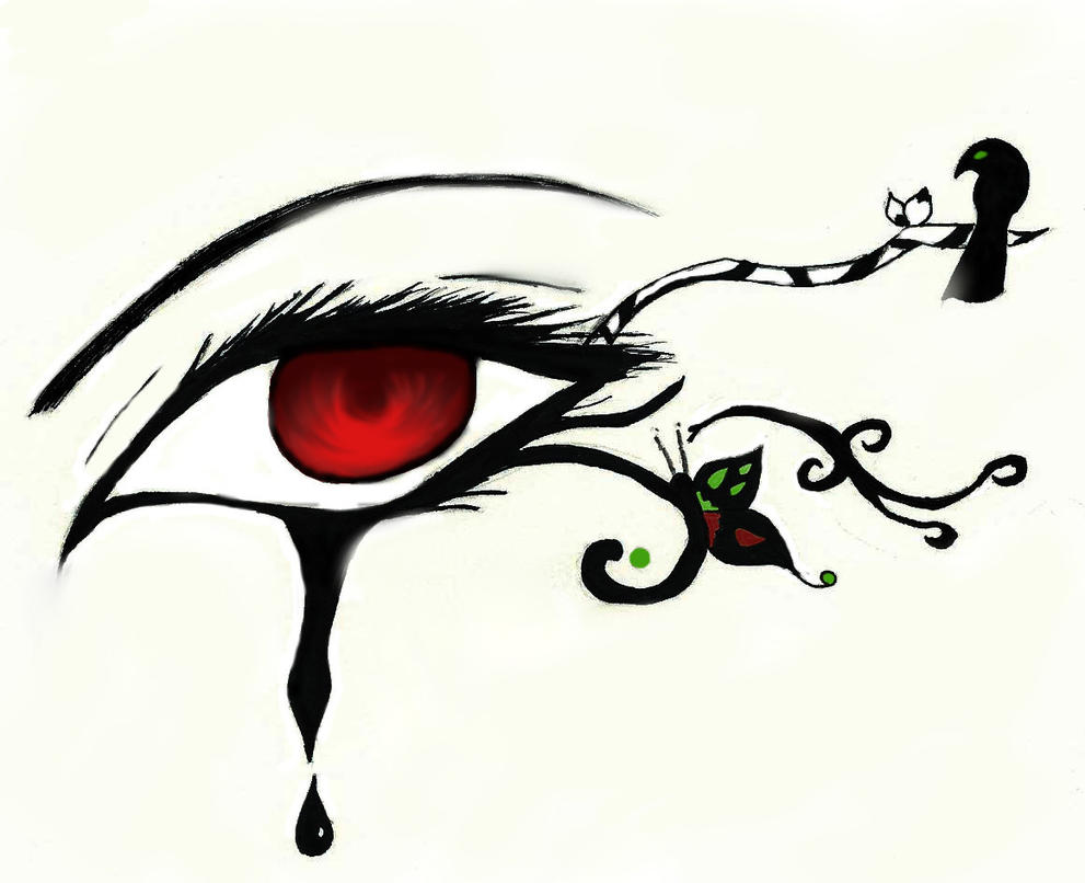 Gothic Eye By 4ever Maybe