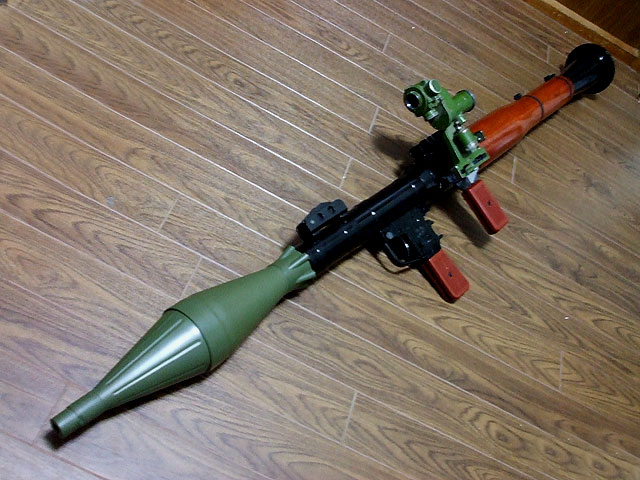 RPG-7 Rocket launcher -Resident Evil 4- by Enfield9346