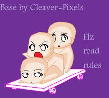 Chibi Pile ::BASE:: by Cleaver-Pixels