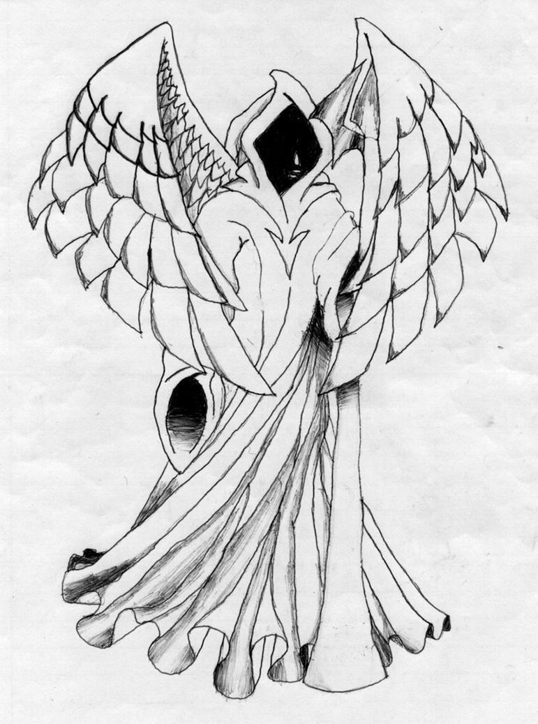 angel of death by luckyirish on deviantart