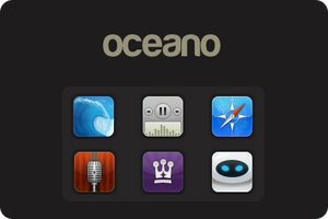 Oceano iPhone theme by elajes