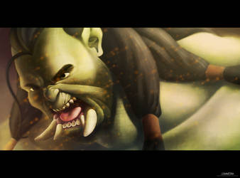 Orc by JRAS22