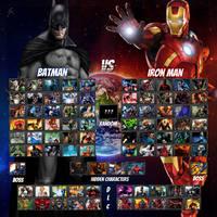 DC Universe Vs. Marvel by Anime-Crazy1928