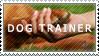 Dog Trainer Stamp by ChrizSplash