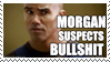 .Morganthinksyou'rebullshit. by Voltaira-Stamps