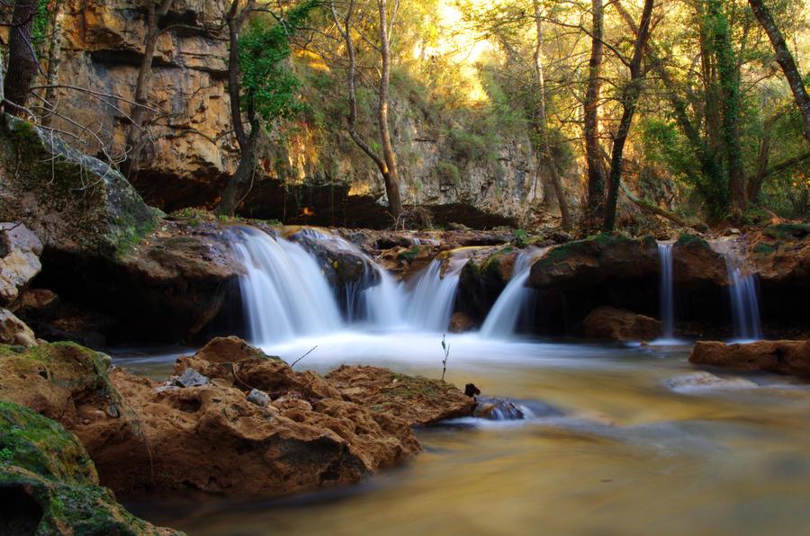 Waterfall by BOBTheCAVEMAN