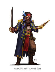 Commission: The Golden Pirate