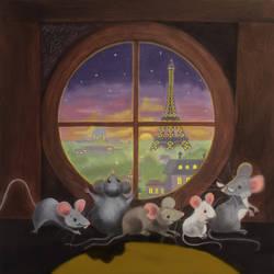 Five Hungry Mice by heatherlynnharris