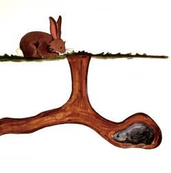 Clover and Mole by heatherlynnharris