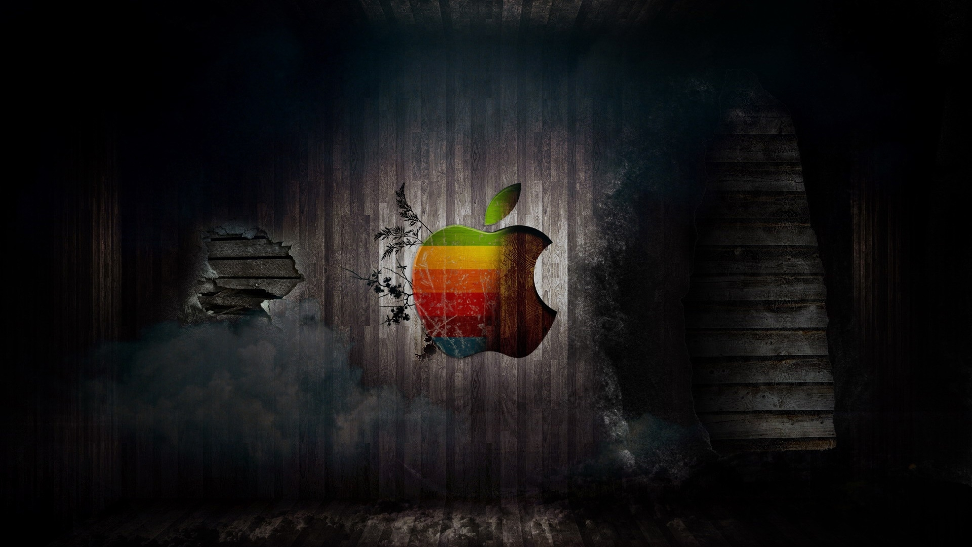 Apple logo fusion by MeGustaDeviantart