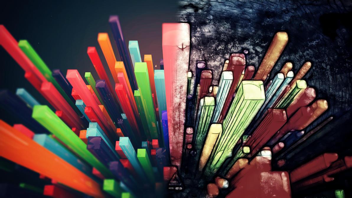 Abstract Lines by MeGustaDeviantart