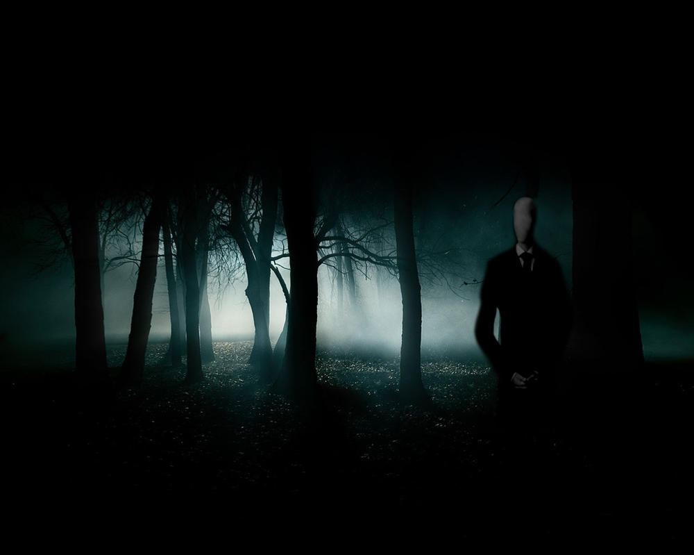 The SLENDER MAN by MeGustaDeviantart