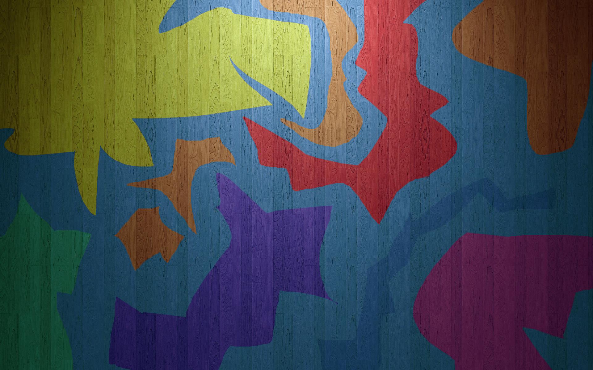 Colored wood by MeGustaDeviantart