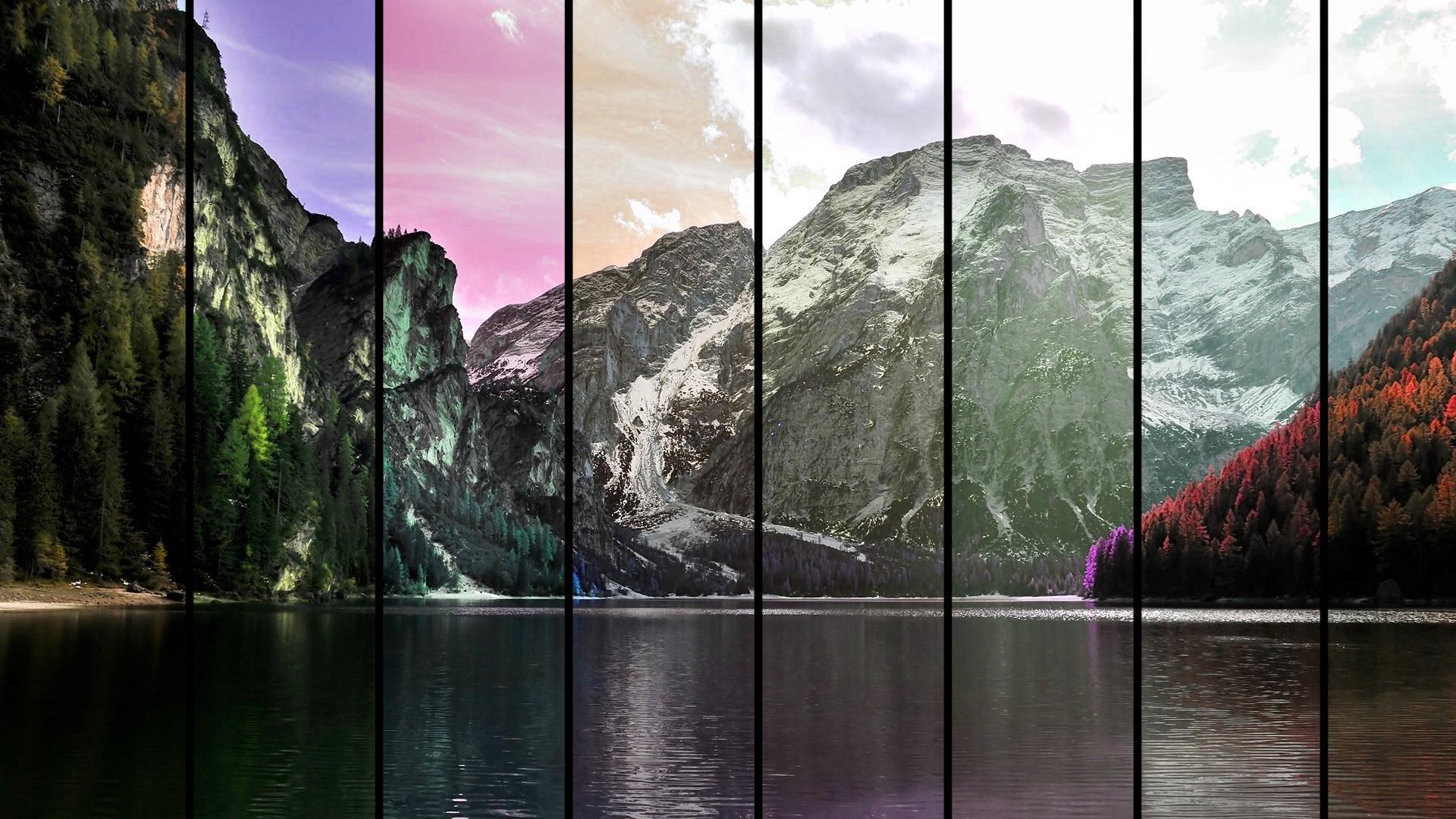 Mountains by MeGustaDeviantart