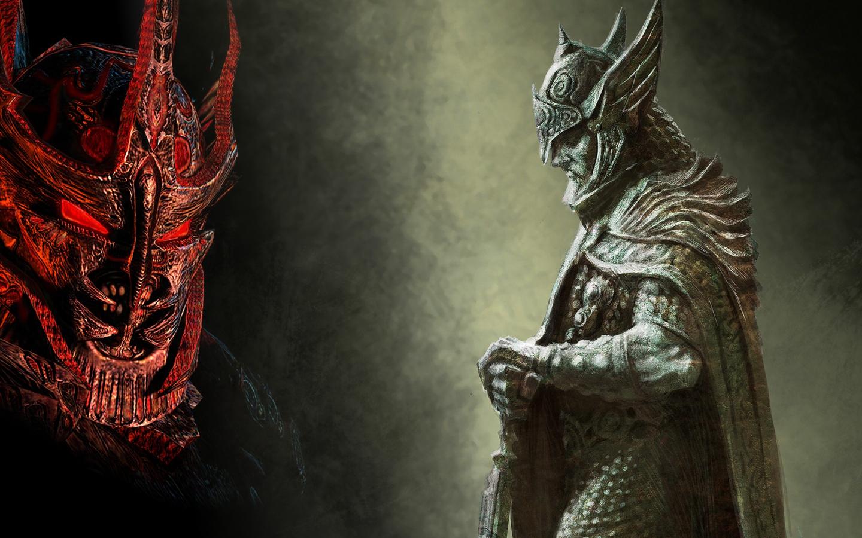 Daedric Lord vs Talos by MeGustaDeviantart