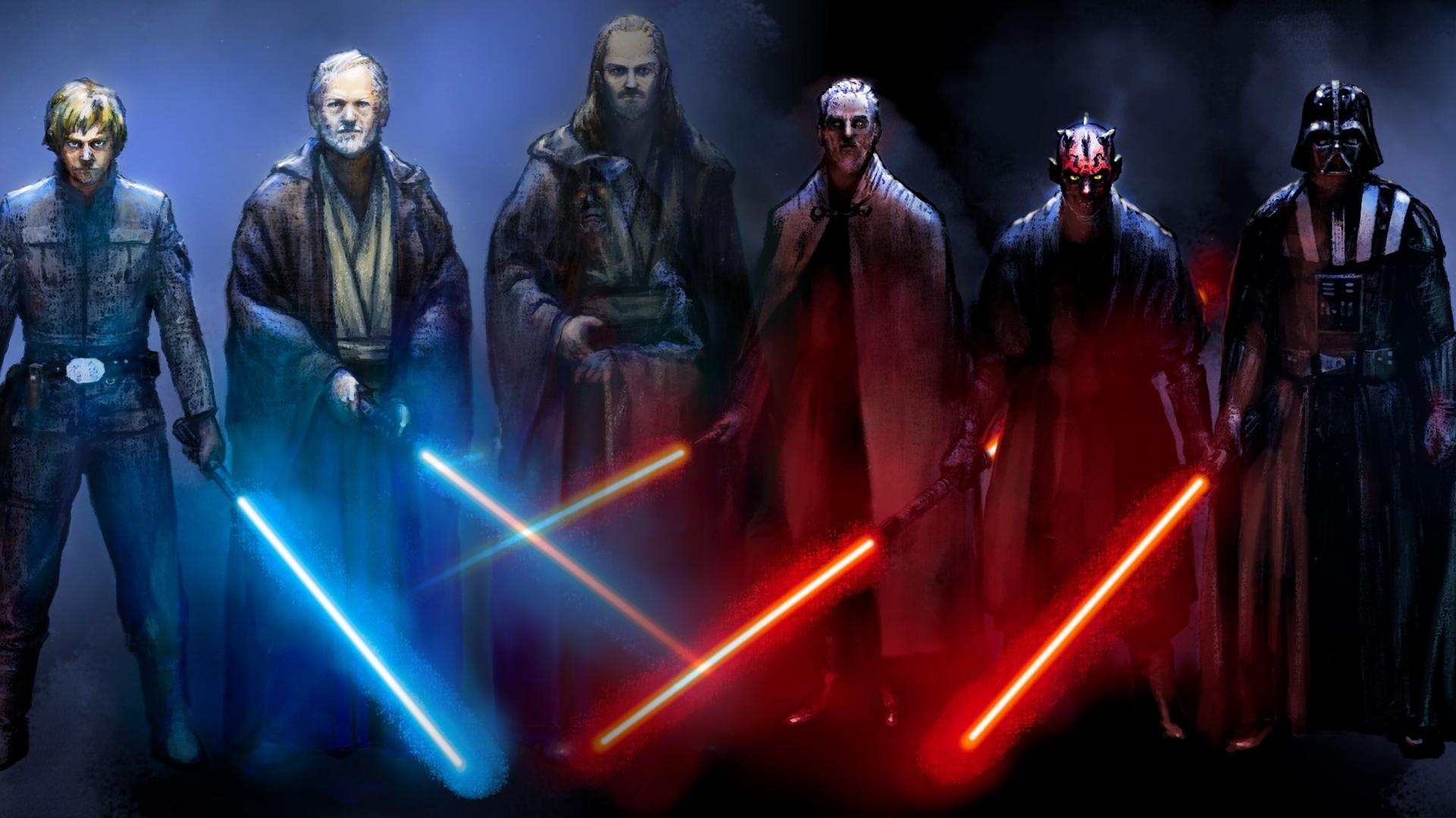 Jedi vs Sith by... Jedi Wallpaper