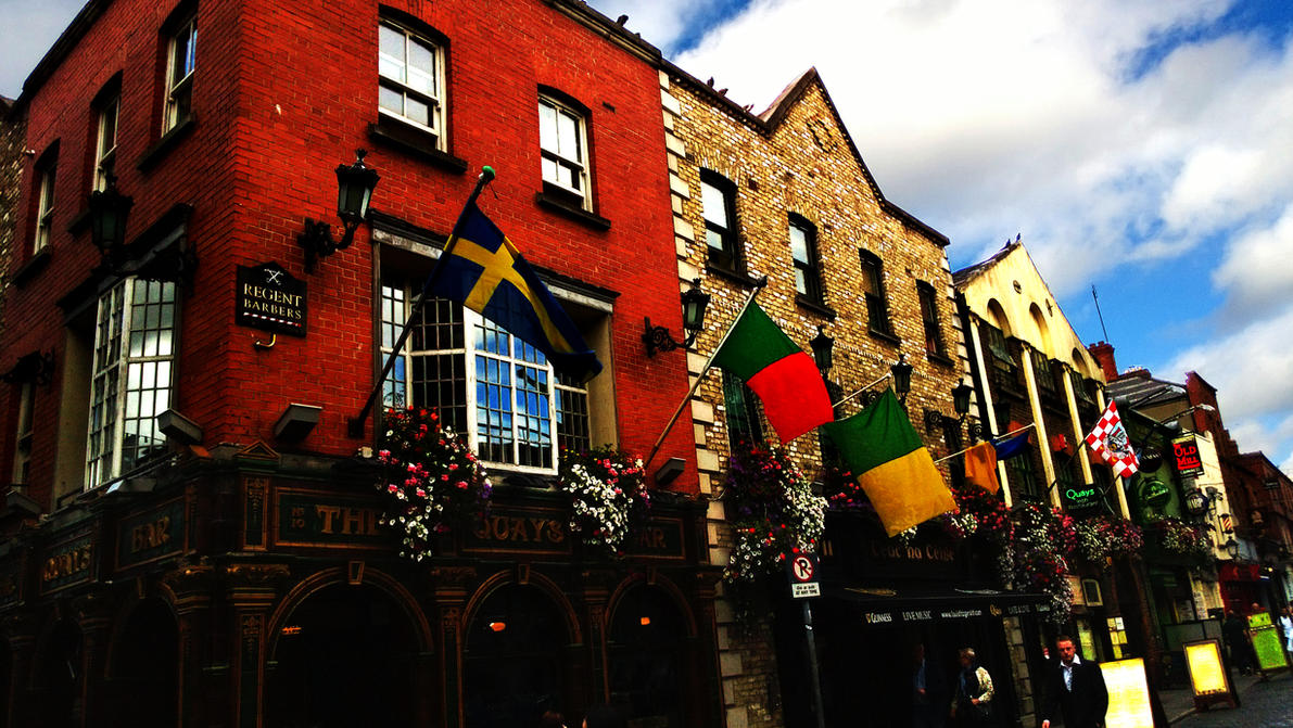 Temple Bar, Dublin by MeGustaDeviantart