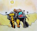 combat elephant