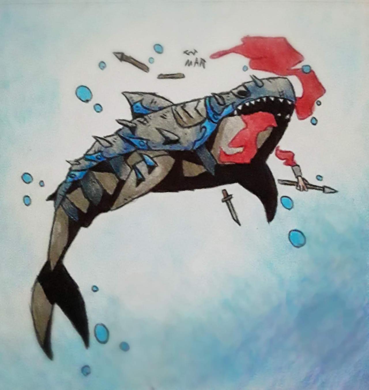 combat shark