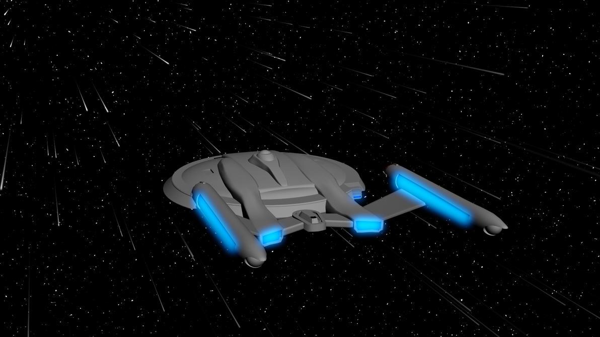 U.S.S. Lakota NX-42768-A | Star trek starships, Star trek