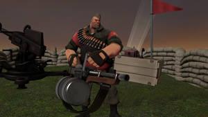 RED Machine Gunner