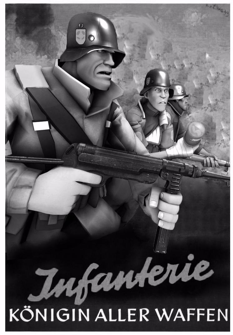 Blumacht propaganda poster: Infanterie by OtabaroCZ