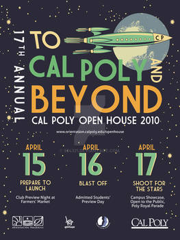 2nd open house poster