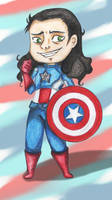 Chibi: Captain Loki by arinadream