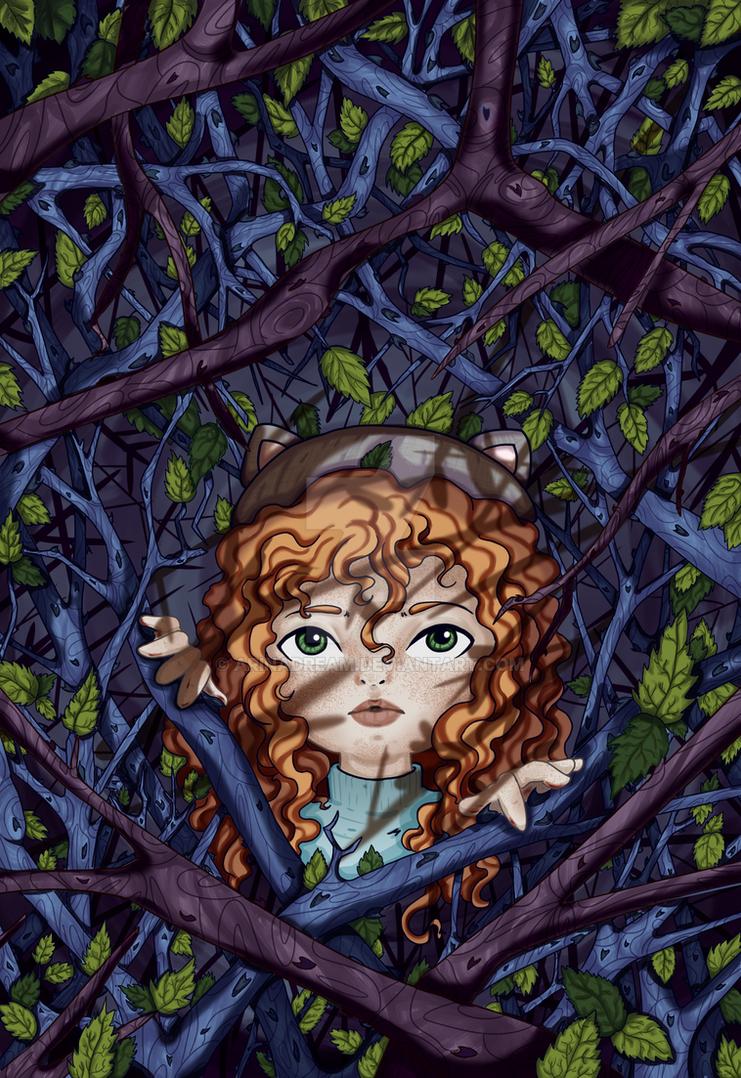 Little curious girl by arinadream