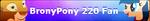 MLP Fan Button BronyPony 220 by MiserisYT
